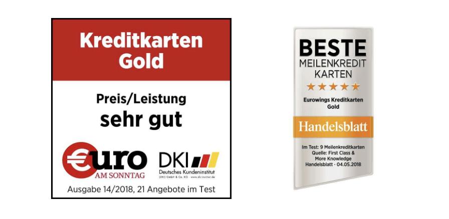 Eurowings Auszeichnungen