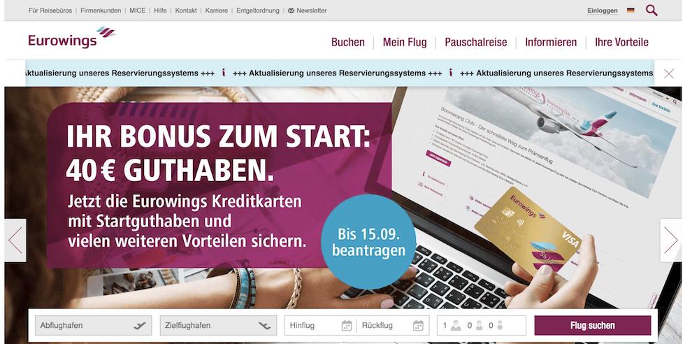Eurowings Kreditkarte Erfahrungen von Aktiendepot.com