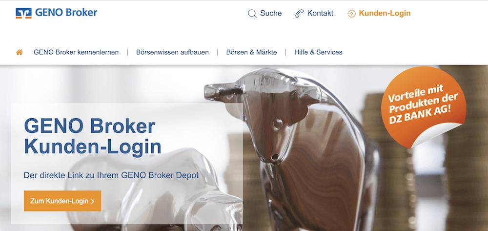 GENO Broker Depot Erfahrungen von Aktiendepot.com