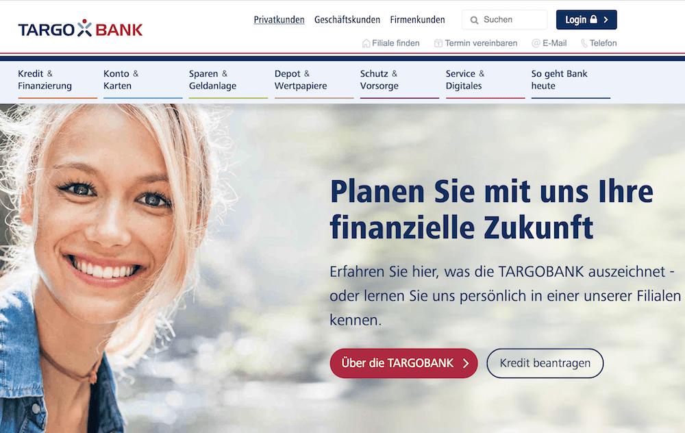 TARGOBANK Homepage