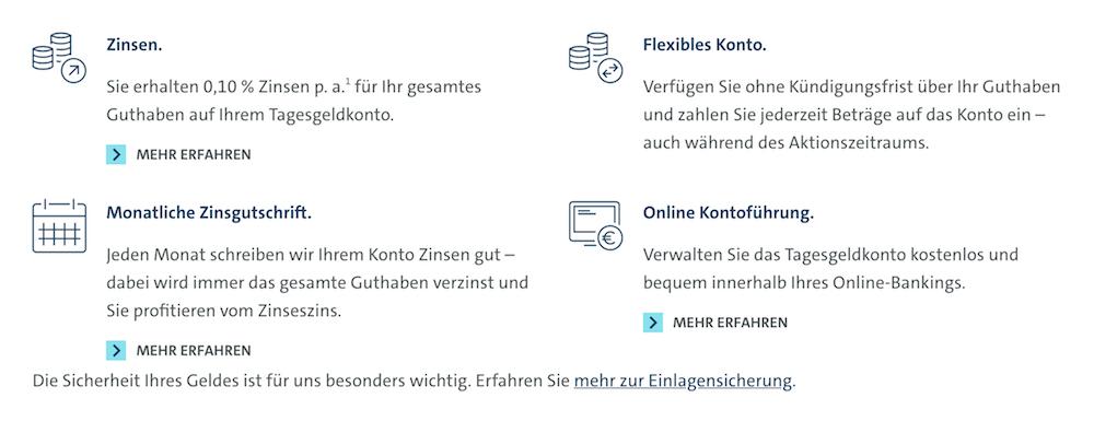 VW Bank Vorteile