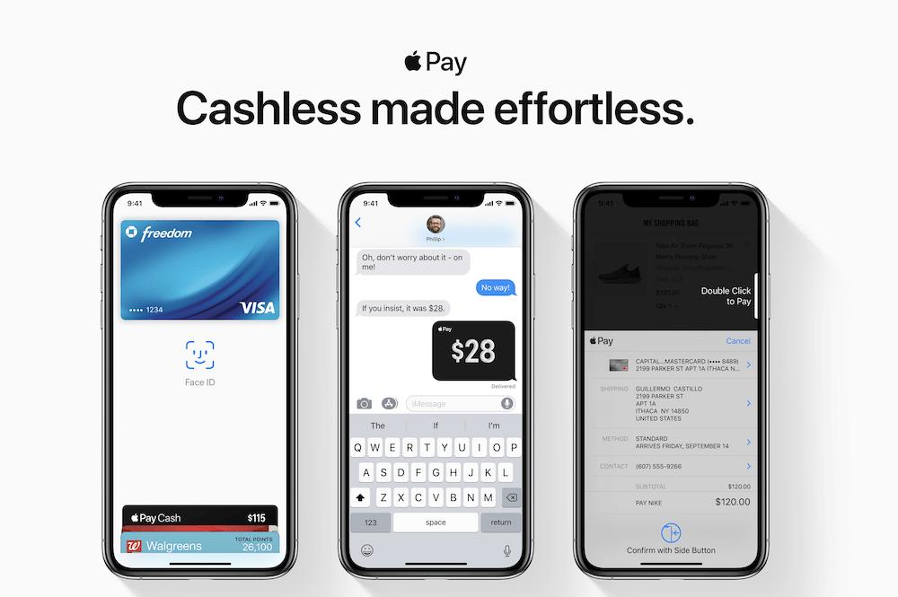 Der Zahlungsdienst von Apple ist kinderleicht anwendbar und schnell vollzogen