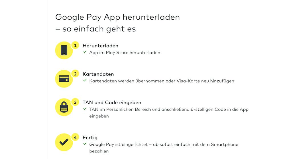 Google Pay App runterladen