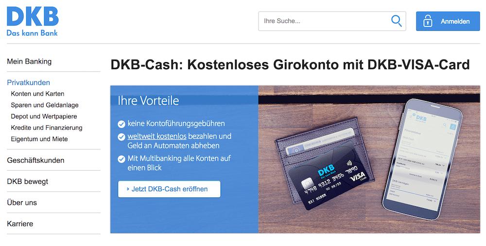 Neben dem Cashback-Angebot warten weitere Vorteile auf DKB-Kunden