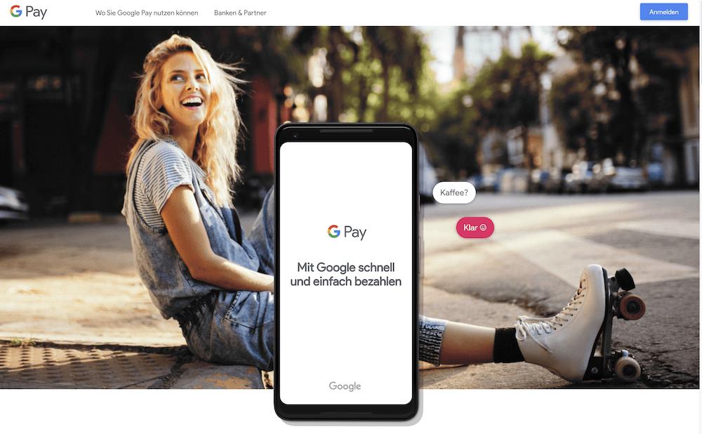 Google Pay Bezahldienst