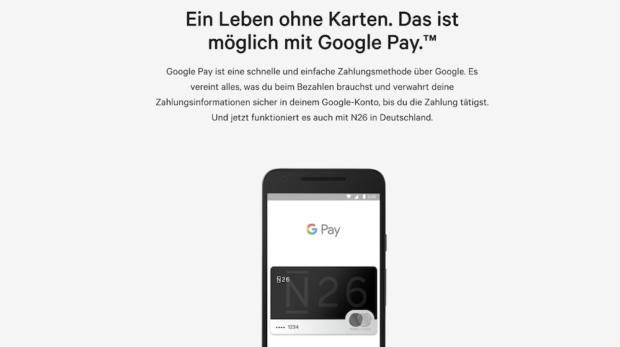 Google Pay N26