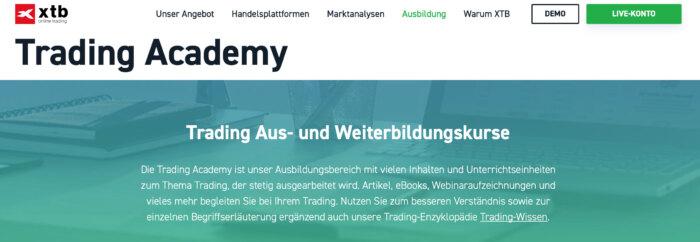 XTB Webinar