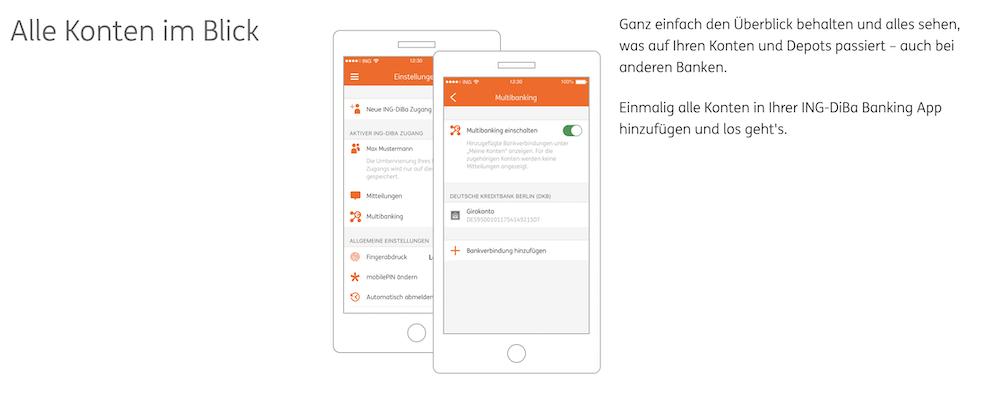 ING-DiBa Banking App