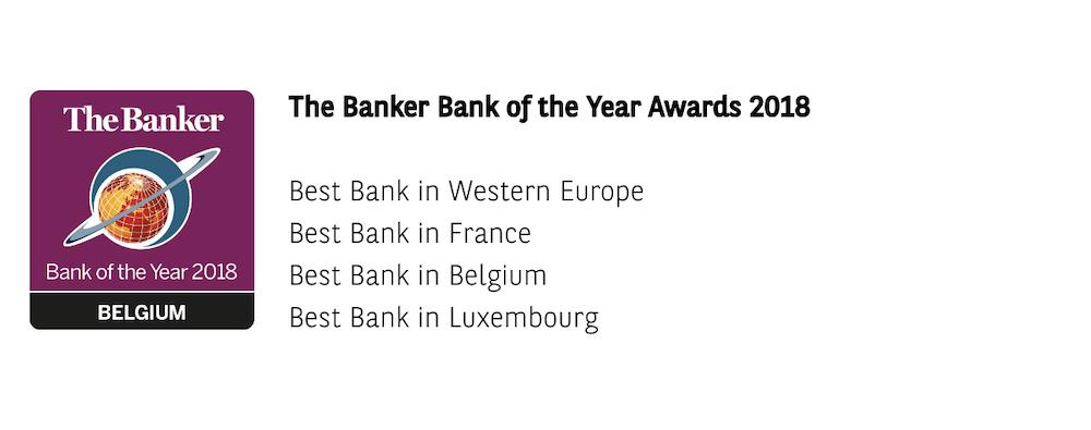 BNP Paribas Auszeichnungen