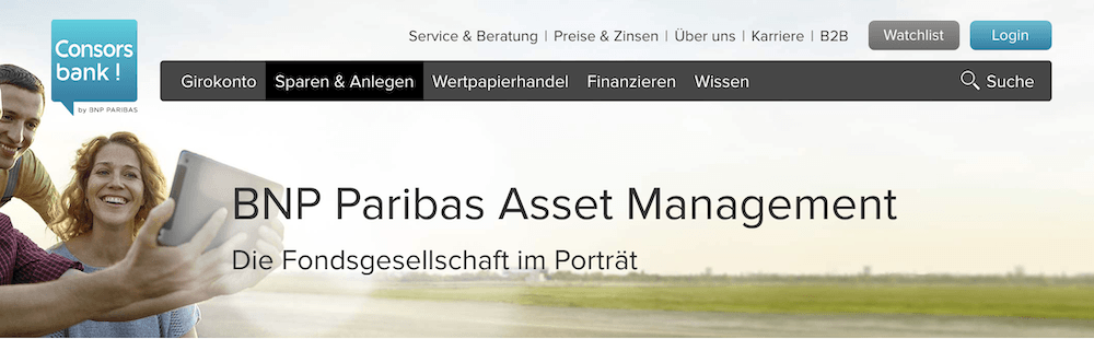 Consorsbank BNP Paribas