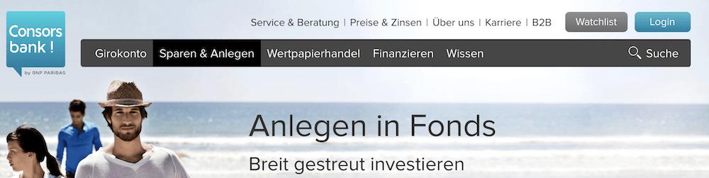Consorsbank Fonds