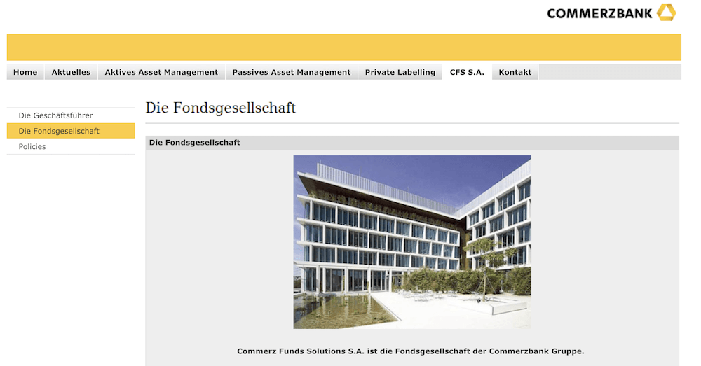 Commerzbank ComStage