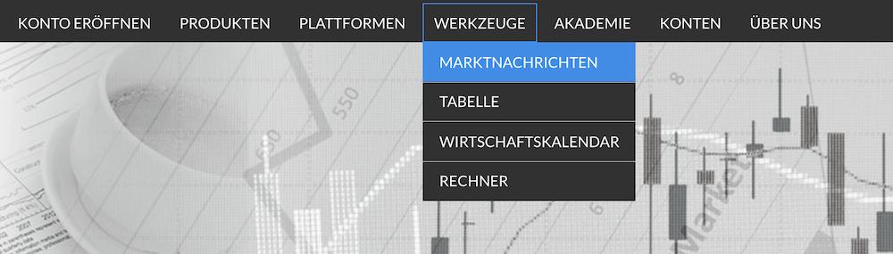 FinMarket Werkzeuge