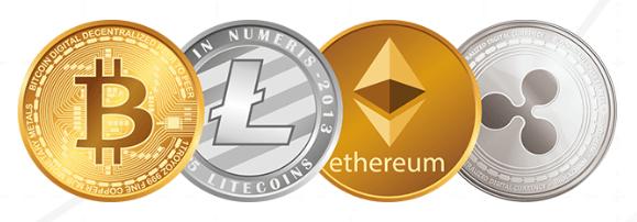 Beispiele für Kryptowährungen