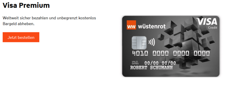 Wüstenrot Kreditkarte Visa Premium
