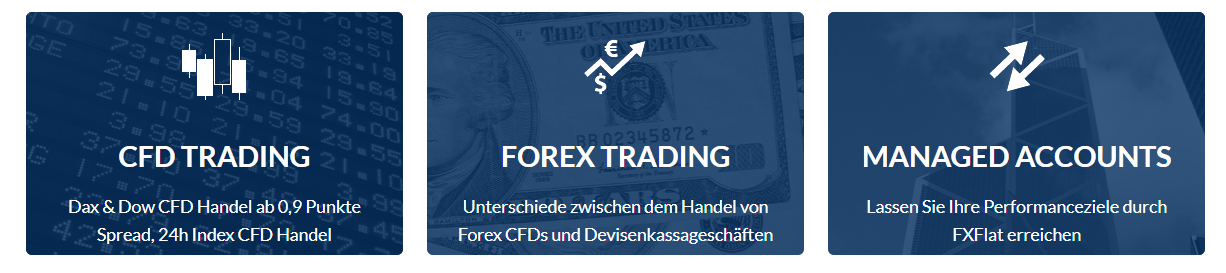 FXFLat FOREX CFD