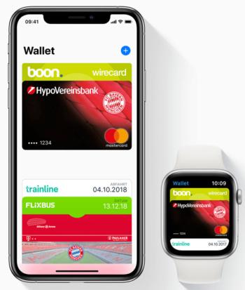 Apple Pay Kreditkarte