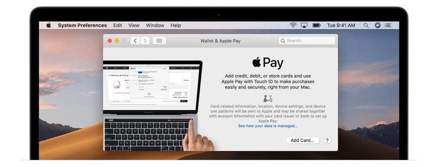 Apple Pay Konto hinzufügen