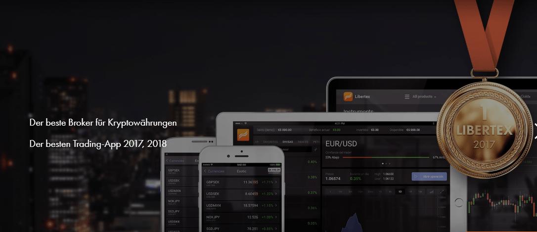Libertex ist der beste Broker für Kryptowährungen