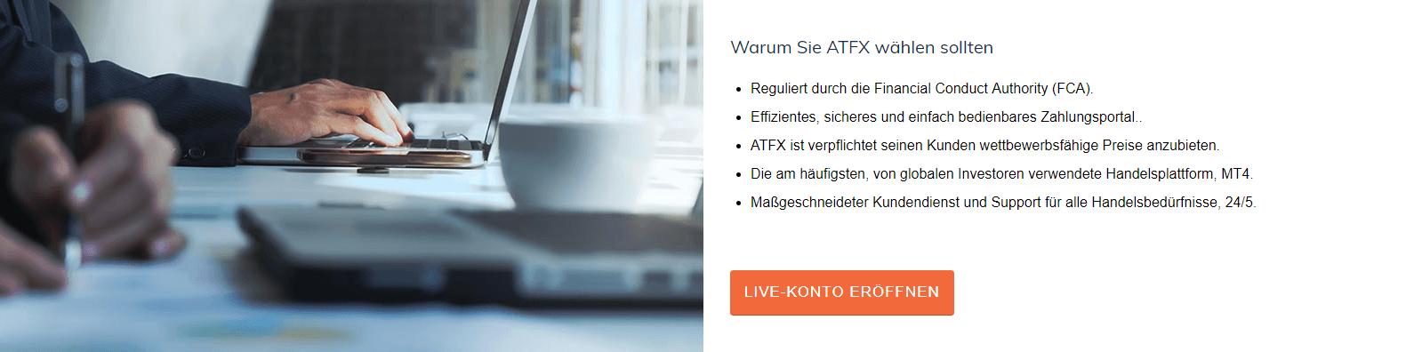 Wichtige Infos über ATFX