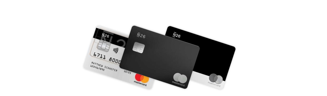 Die Kreditkarten der N26 Bank