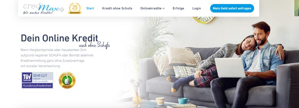 Credimaxx Webseite