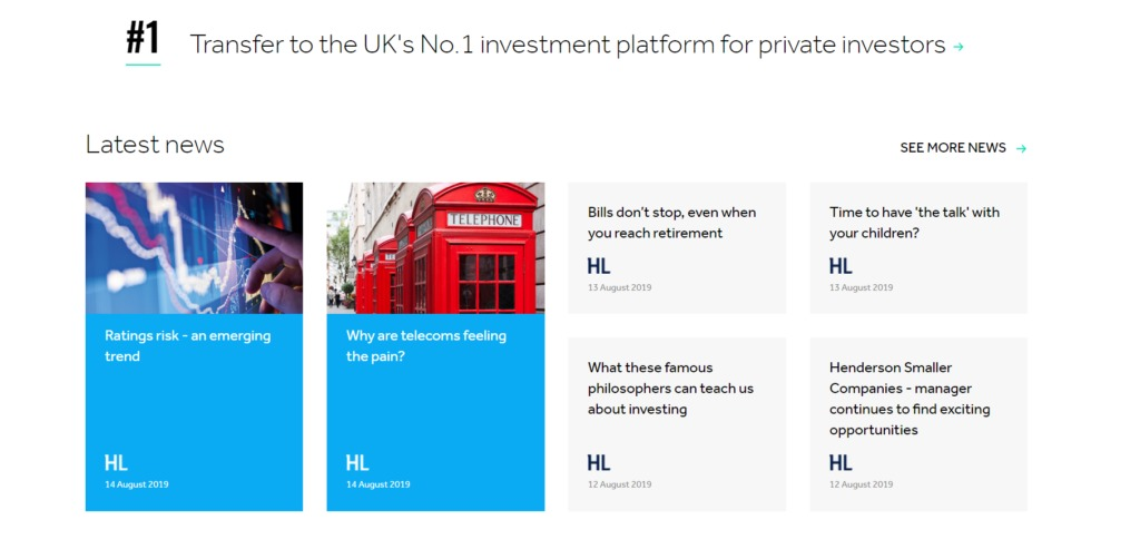 Use UK´s No.1 investment platform hargreaves lansdown!