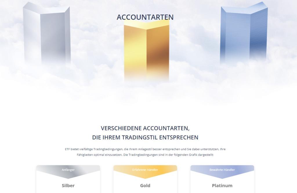 ETFinance Demo