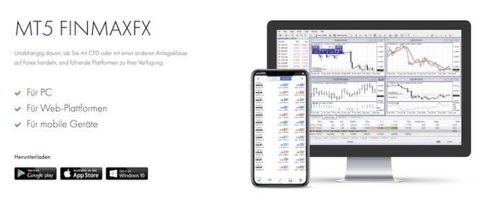FinmaxFX Handelsplattformen